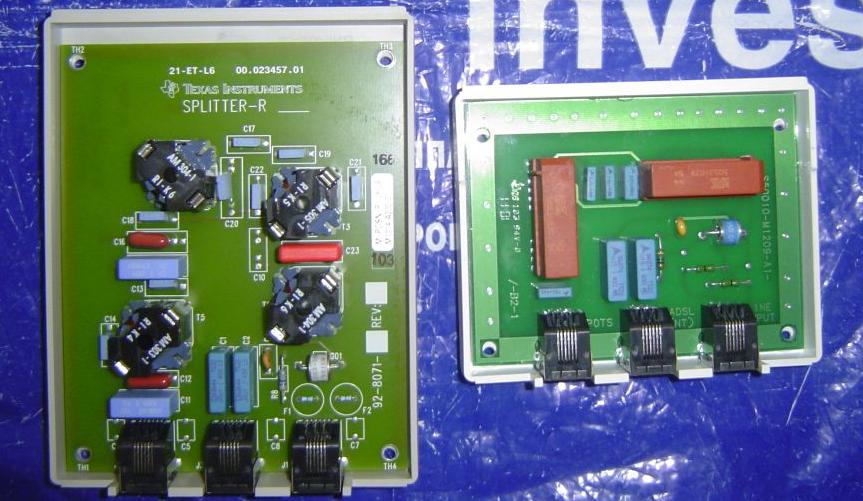 ADSL splitter ECI.